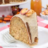 Toffee Apple Bundt Cake Recipe