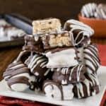 Peanut Butter Buckeye Pretzels Recipe