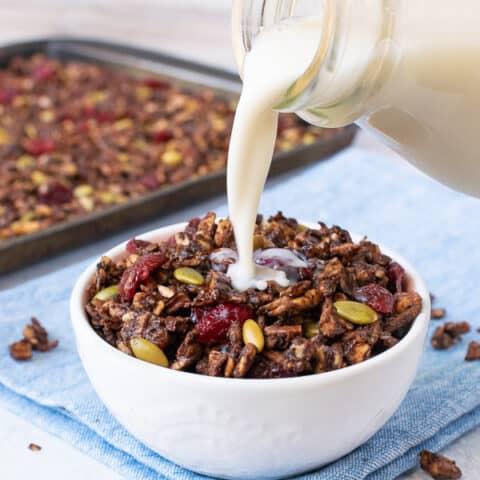 Salted Chocolate Grain Free Granola
