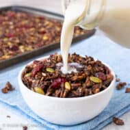 Salted Chocolate Grain Free Granola