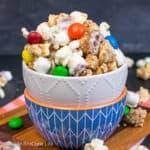 White Chocolate Peanut Butter Pretzel Popcorn