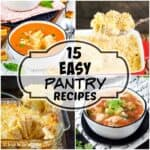 15 Easy Pantry Recipes