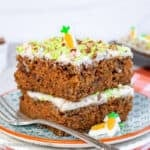 Easy Carrot Cake Bars