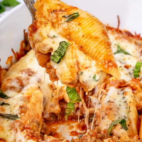 Stuffed Shells with Meat Recipe