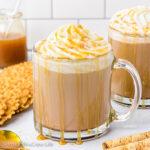 Salted Caramel Mocha Latte {Starbucks Copycat Recipe}