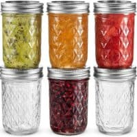 8 ounce canning jars