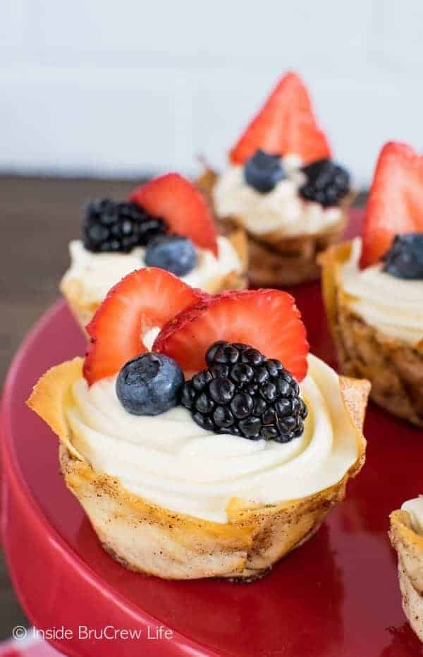 Lemon Mousse Dessert Cups