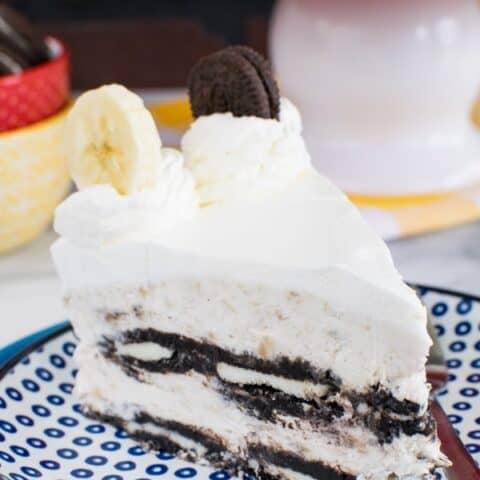 Oreo Banana Cream Icebox Cake