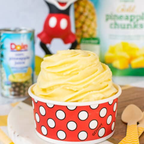 Pineapple Dole Whip: Copycat Disney Recipe