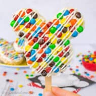 M&M's Mickey Mouse Rice Krispie Treats: Disney Copycat Recipe