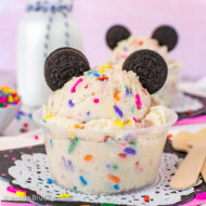 Edible Cookie Dough – Disney Copycat Recipe