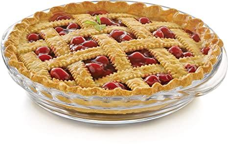 Libbey 55826-9.5 in 2 pc Deep Pie Plate