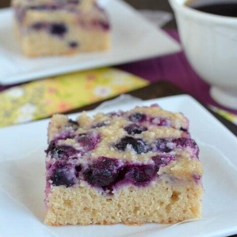 Blueberry Snack Cake