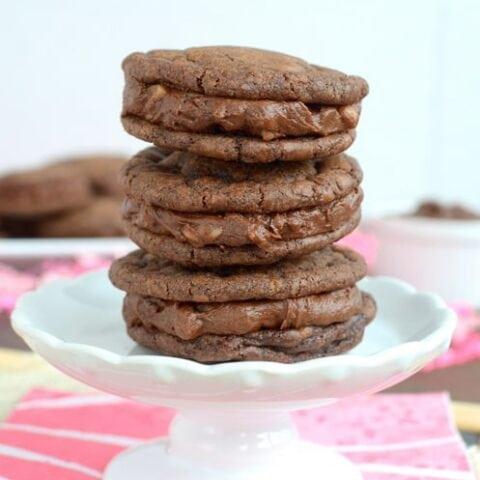 Brownie Whoopie Pies