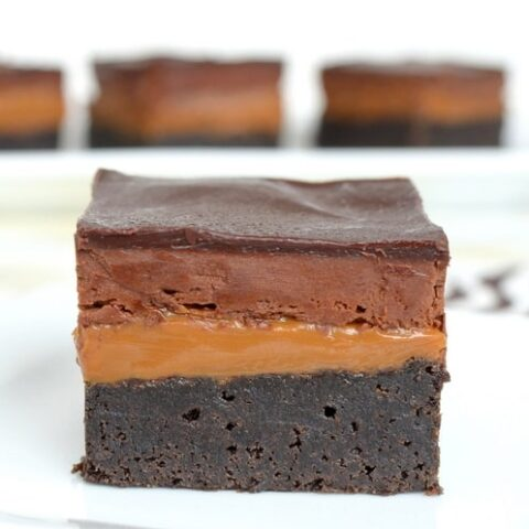 Caramel Milky Way Brownies Recipe