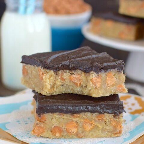 Chocolate Butterscotch Oat Bars