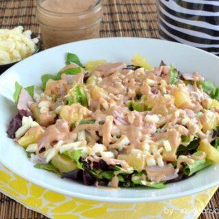 Ham and Pineapple Salad