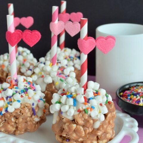 Hot Chocolate Popcorn Balls