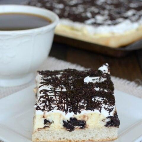 Oreo Banana Cream Pie Pizza Recipe