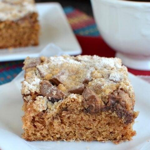 Peanut Butter Cup Coffee Cake