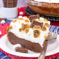 Gooey S'mores Pie Recipe